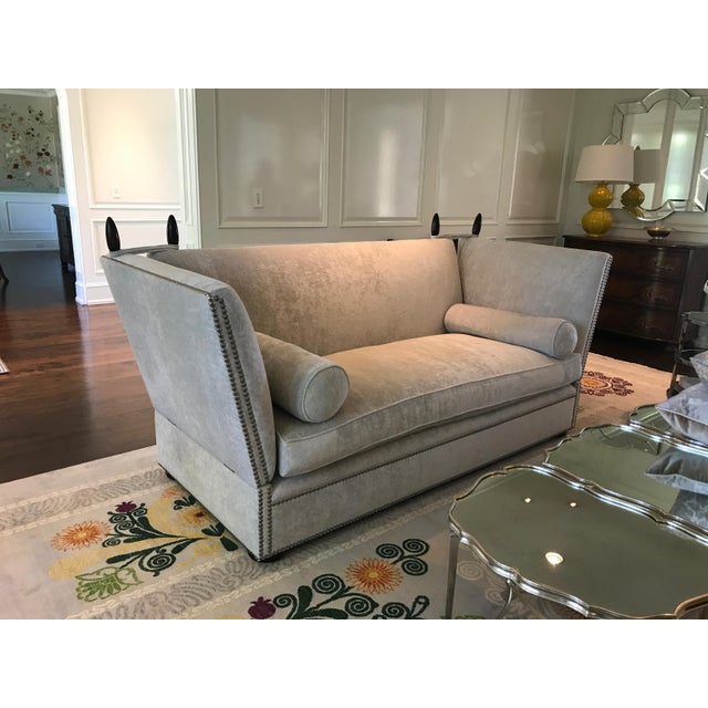 George Smith Light Silver Grey Sofa - Image 2 of 9