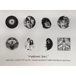 """Imagining John"" Imagery, Spirit and Soul Lithograph"