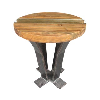 Teak Me Home 'Tides' Teak End Table