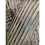Image of Gray & Black Abstract Oil Painting
