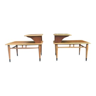 Lane Acclaim Stepped Tables- A Pair
