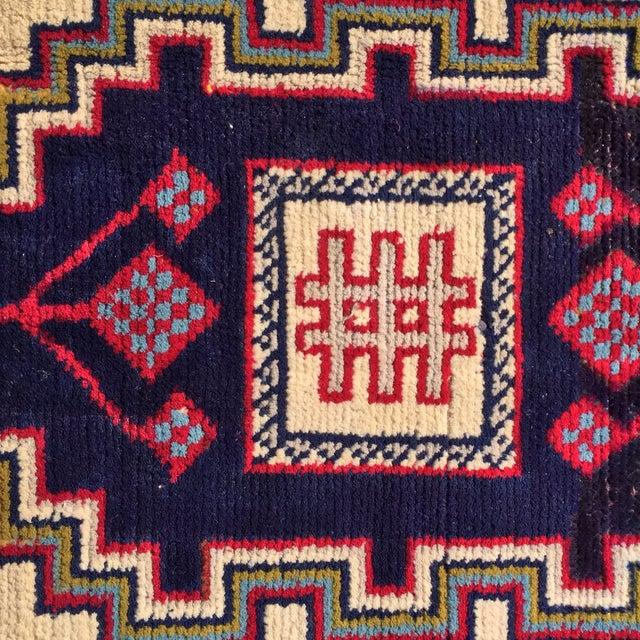 1134 Turkaman Persian Rug - 1′11″ × 2′10″ - Image 4 of 6