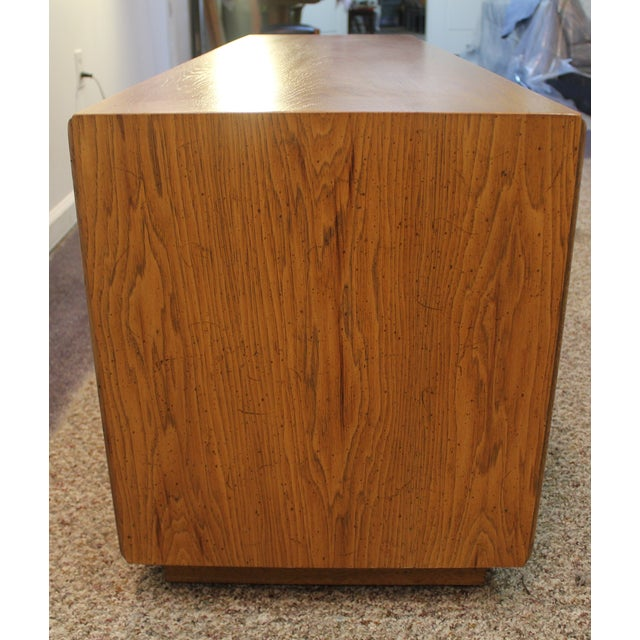 Image of Mid Century Modern Elongated Low Profile Credenza