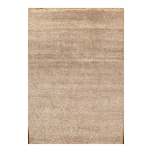 Image of Tabriz Traditional Hand-Knotted Rug - 6'x9'