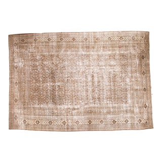 "Distressed Vintage Khorassan Carpet - 10'2"" x 14'2"""