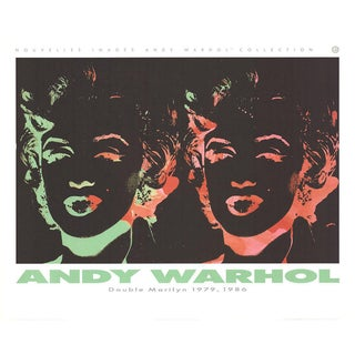 Andy Warhol-Double Marilyn (Reversal Series)-1989 Poster