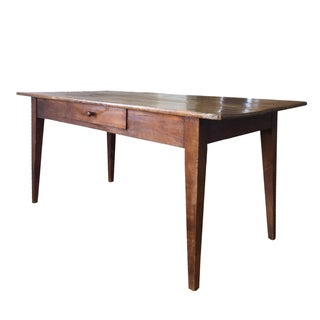 Antique French 19th-Century Farm Table