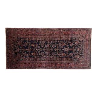 Antique Persian Sarouk Rug, Persian Gallery Rug