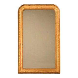 Original Antique French Louis Philippe Gilt Mirror