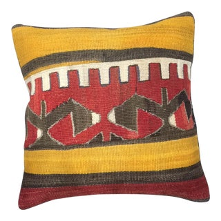 Vintage Handmade Throw Pillow