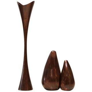 Nambe Patinated Copper Kitchenware - Set of 3