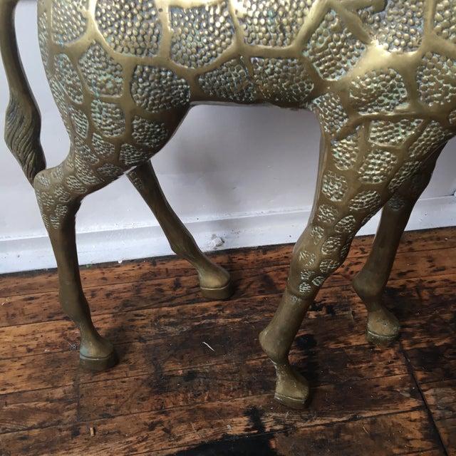 Lifesize Brass Giraffe - Image 7 of 8
