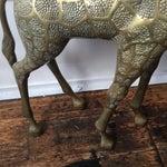 Image of Lifesize Brass Giraffe