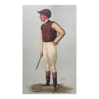 1887 Original Vanity Fair George Barrett Jockey Print
