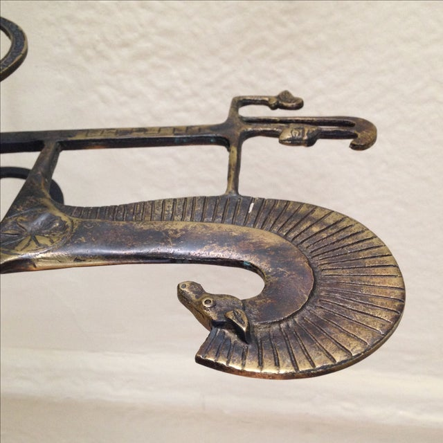 Etruscan Horse & Chariot Sculpture - Image 10 of 10