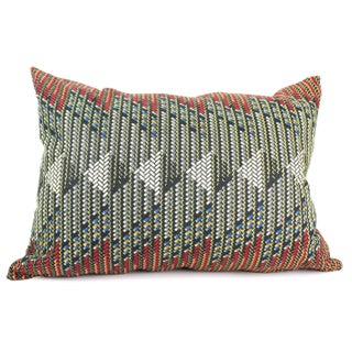 African Dutch Wax Arrow Pillow