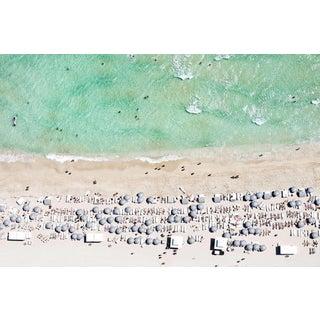 Beach City Photo by Jorge De La Torrent- Framed With White Frame