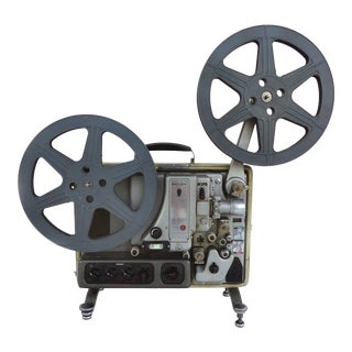 Mid-Century Modern Bolex 16mm Movie Projector
