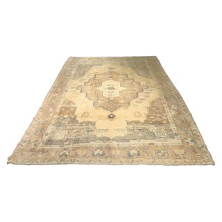 Bellwether Rugs Vintage Distressed Turkish Oushak Rug - 6' X 9'3""