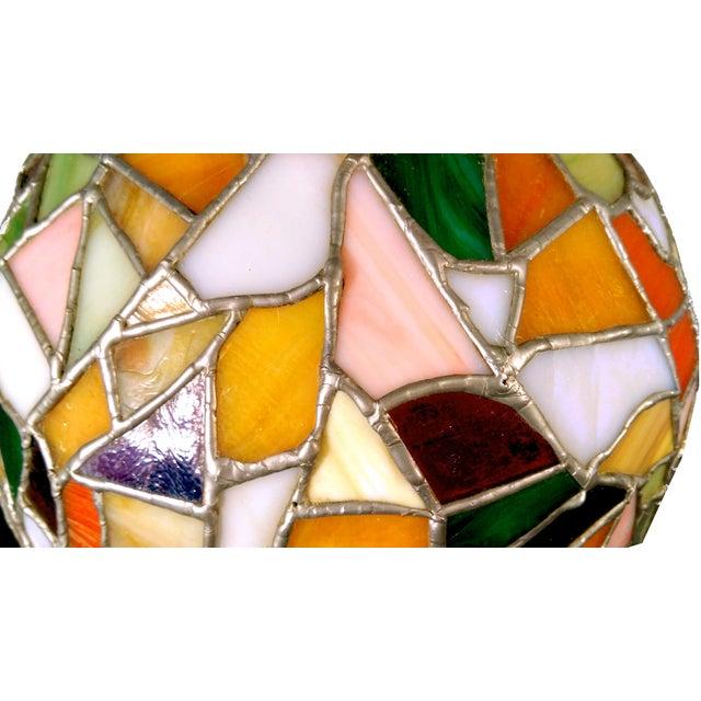 Mid-Century Mosaic Globe Pendant Lamp - Image 6 of 8