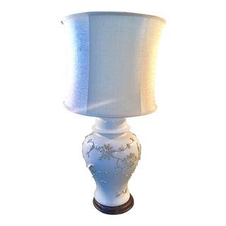 Mid-Century Blanc de Chin Lamp