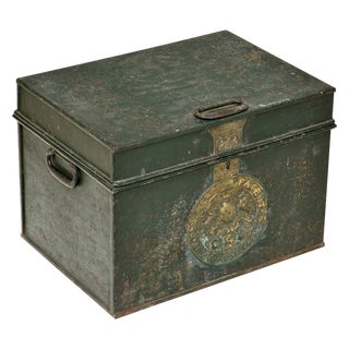 19th Century English Strong Box