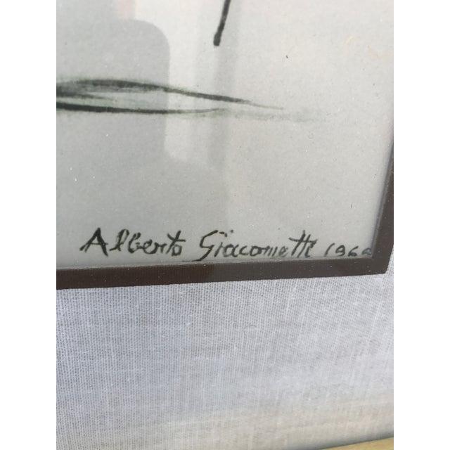 """""""Caroline"""" Lithograph by Alberto Giacometti - Image 4 of 7"""