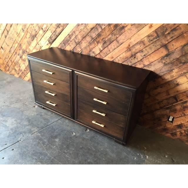 Raymond Loewy Vintage Brown Industrial Dresser - Image 4 of 7