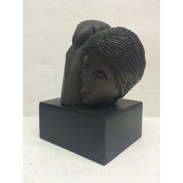 "Sunol Alvar Sculpture ""Mujer Con Paloma II"" - Image 3 of 6"