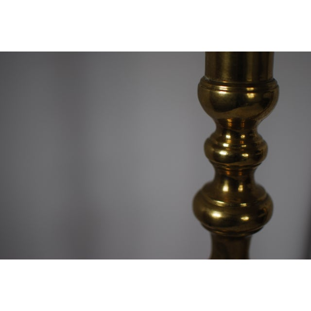 Image of Vintage Brass Candlesticks - A Pair