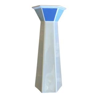 German 1960's Modern Color Blocked Vase