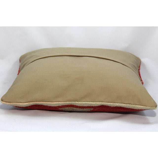 Turkish Handmade Kilim Pillow Cover - Image 4 of 4