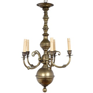 Quirky Brass Chandelier