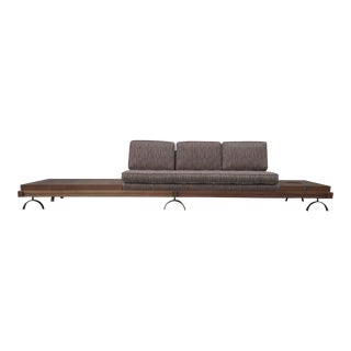 Vintage Martin Borenstein Danish Modern Slipper Sofa