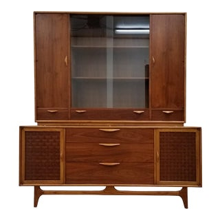 Lane Perception China Cabinet and Hutch