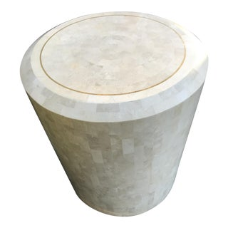 Maitland Smith Tessellated Stone Side Table
