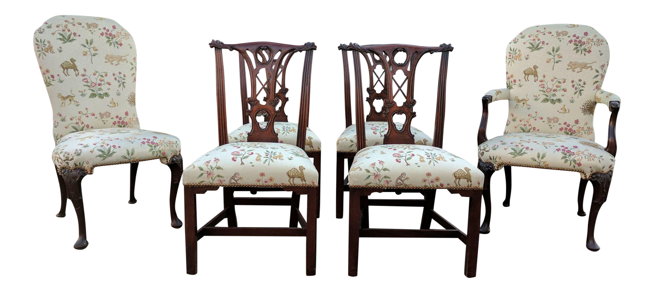 transitional kindel dining room chairs set of 6 chairish discount dining room sets with transitional upholstered