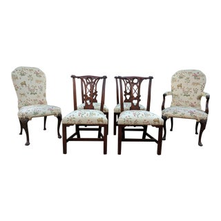 Transitional Kindel Dining Room Chairs - Set of 6