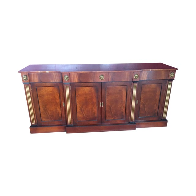 Flame Mahogany Side Cabinet - Image 1 of 10