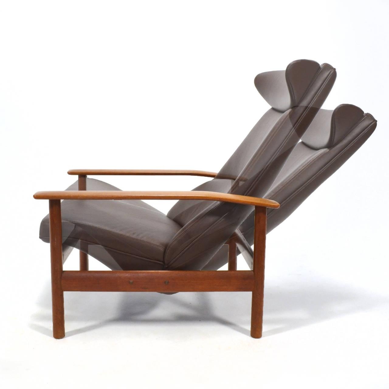 Sven Ivar Dysthe Reclining Lounge Chair   Image 7 Of 11