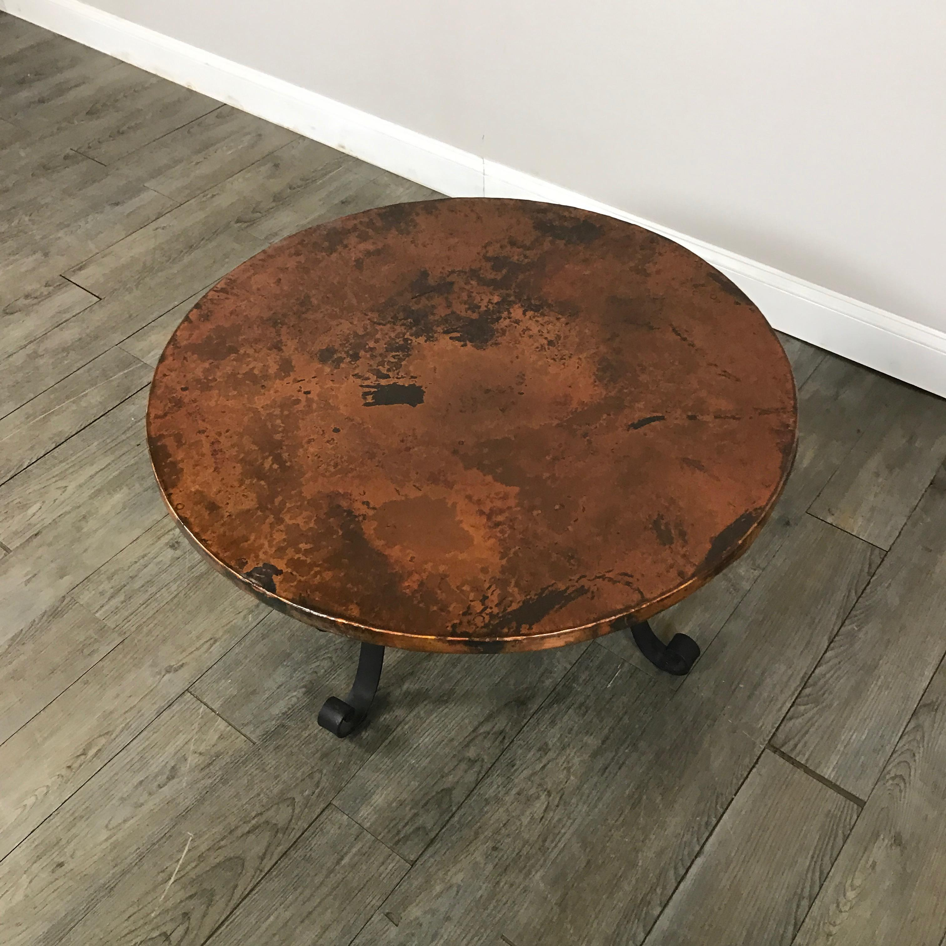 Arhaus Copper Top Coffee Table   Image 3 Of 8