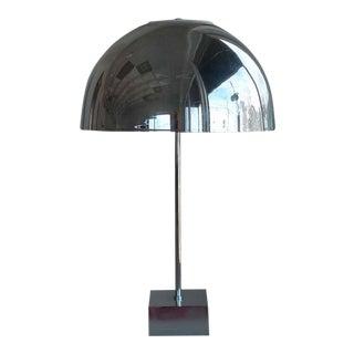 Paul Mayen Mid-Century Chrome Dome Lamp