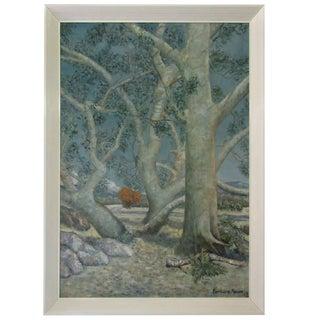 Barbara Moore Mid-Century Oil Painting