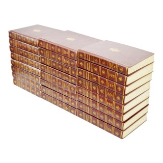 1960 Encyclopedia Britannica Leather Bound Books - Set of 24