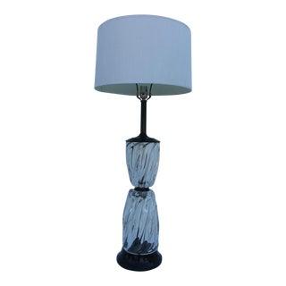 Italian Murano Glass Table Lamp.