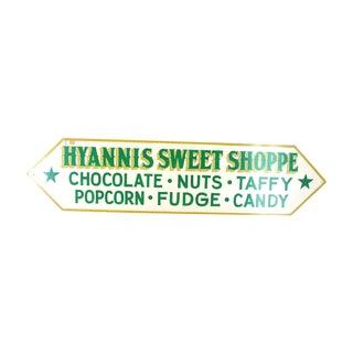 Hyannis Massachusetts Cape Cod Sweet Shop Sign #2