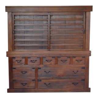 19th Century Double Japanese Tansu