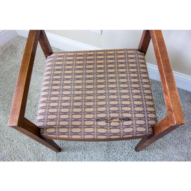 Knoll Vintage Ricchio Walnut Chair - Image 8 of 8