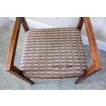 Image of Knoll Vintage Ricchio Walnut Chair