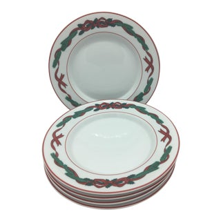 Dansk Holiday Jul Tidings Side Plates - Set of 5